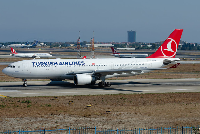 TC-JIN  Turkish Airlines Airbus A330-202