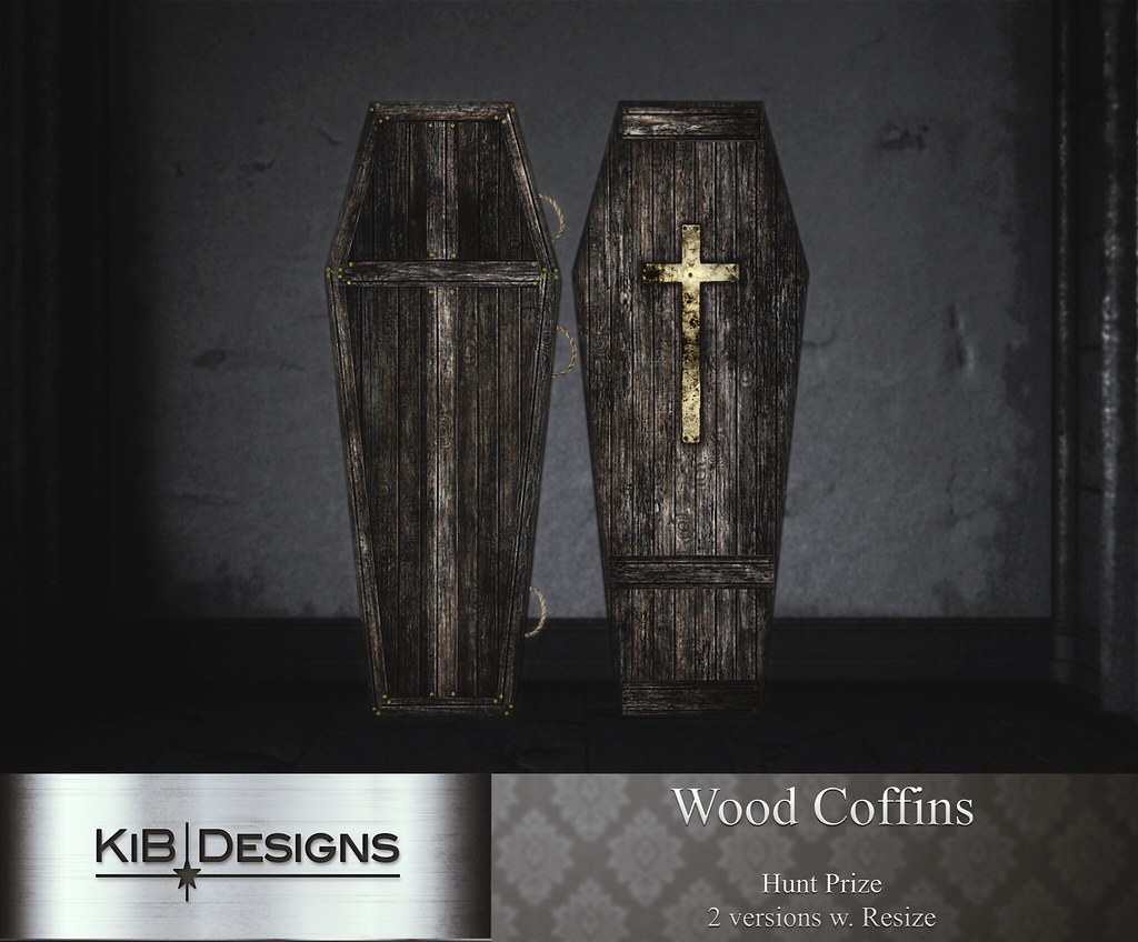 KiB Designs – Wood Coffins Prize @Hallow Manor