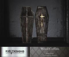 KiB Designs - Wood Coffins Prize @Hallow Manor