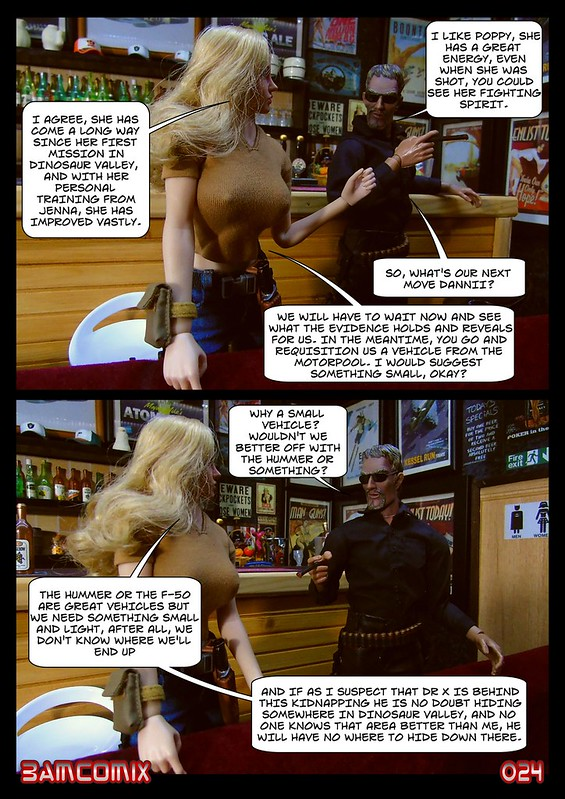 BAMComix Presents - Agent Down - Chapter Two - Uneasy Partners 50458733687_95890de5a0_c
