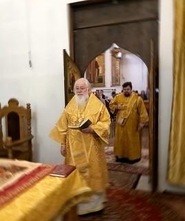 11.10.2020 | Литургия в Хутынском монастыре