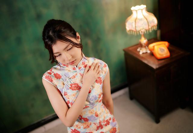 七工匠 35mm f1.4 人文鏡旗袍寫真