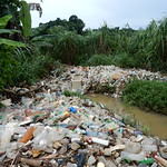 Waste and river pollution, Cote d'Ivoire