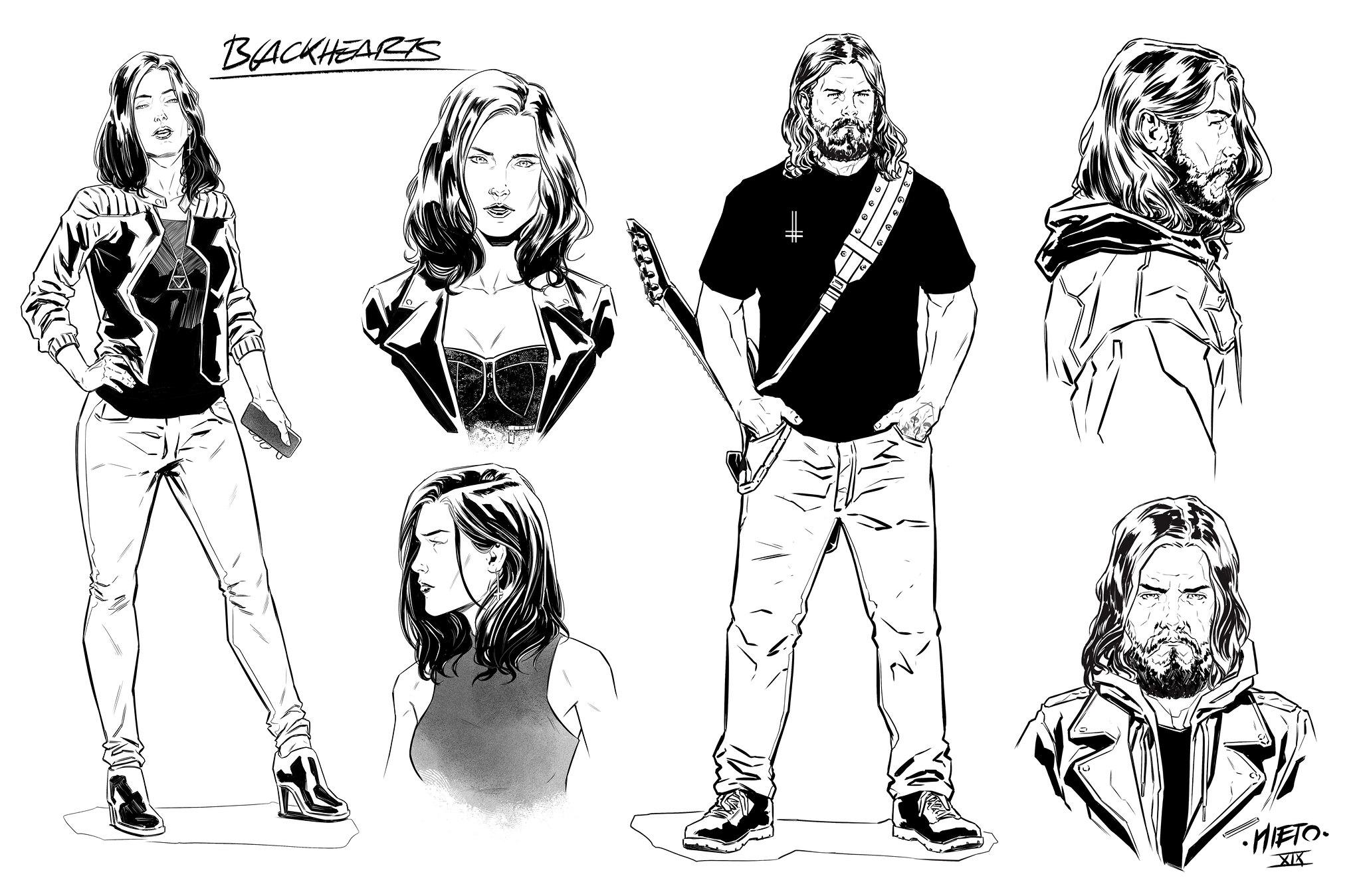 Blackhearts---Protagonistas