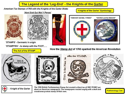 Legend of the Leg End - the 1765 American Stamp Act | by arthur.strathearn