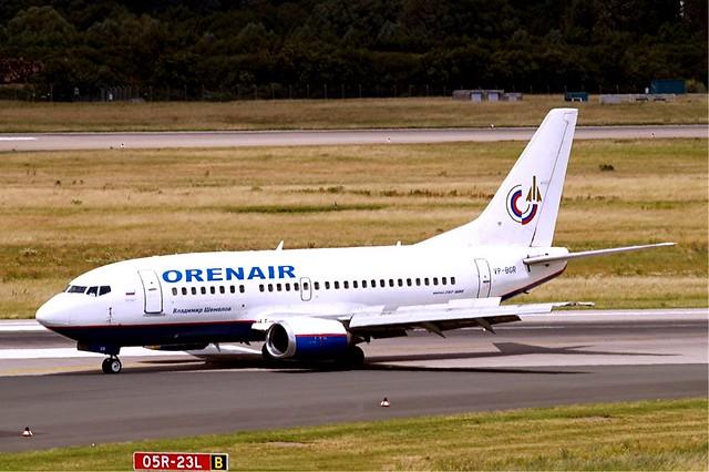 VP-BGR Boeing 737-505 [25790] (Orenair) Dusseldorf Int'l~D 18/06/2011