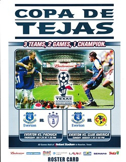Pachuca v Everton 29/07/2004