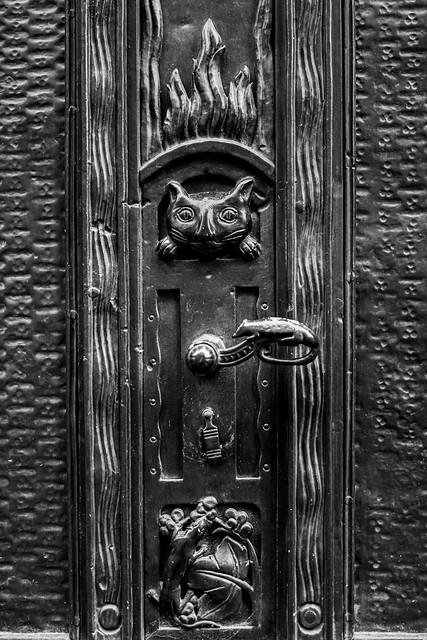 Katzen Tür