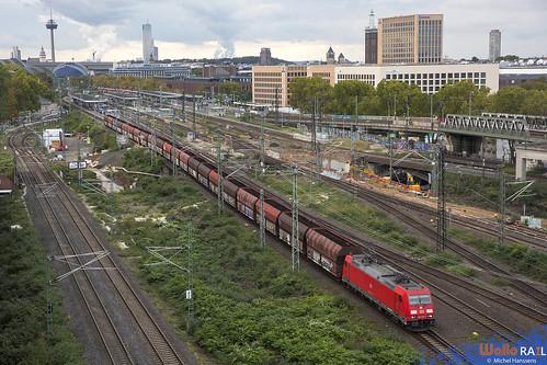 185 276 . DB Cargo . 60515 . Köln Messe Deutz . 11.10.20.