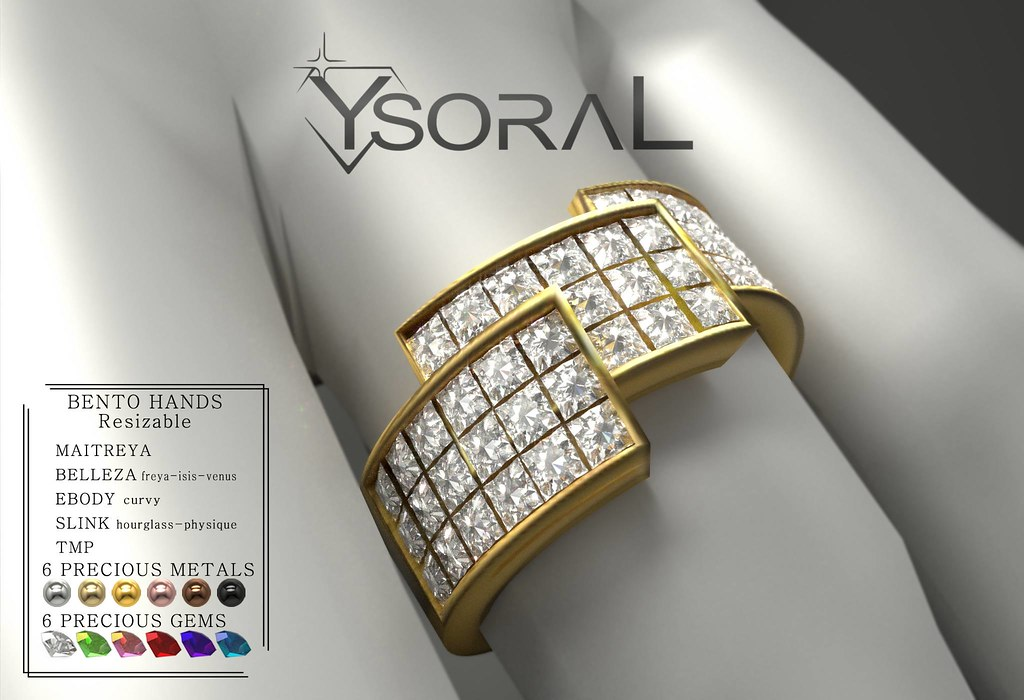 (BENTO)~~ Ysoral ~~ .:Luxe Ring Naemie :.