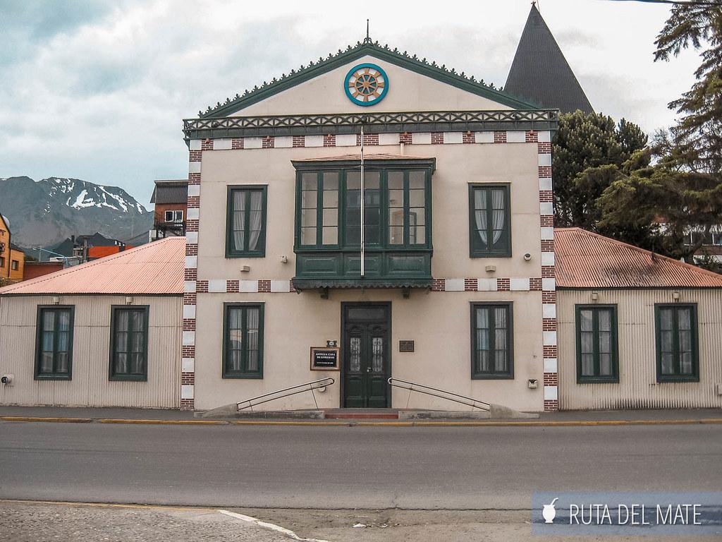 Antigua casa de gobierno de Ushuaia