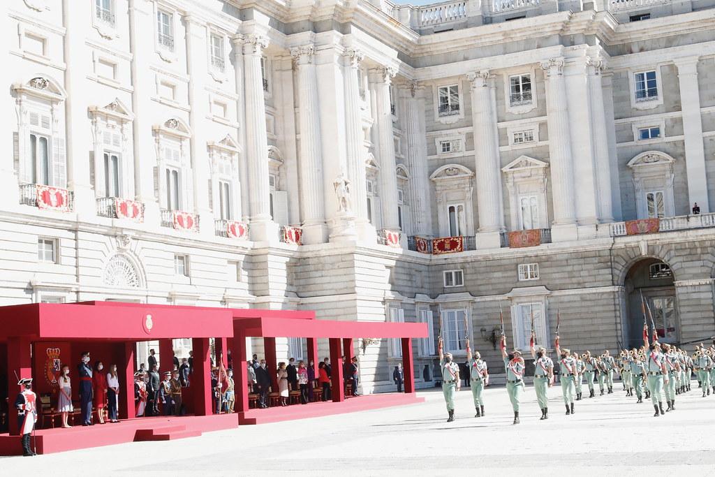 Desfile Fiesta Nacional. Fotos. Casa Real.  (14)