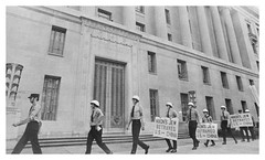 Nazi march passes the U.S. Justice Department: 1971