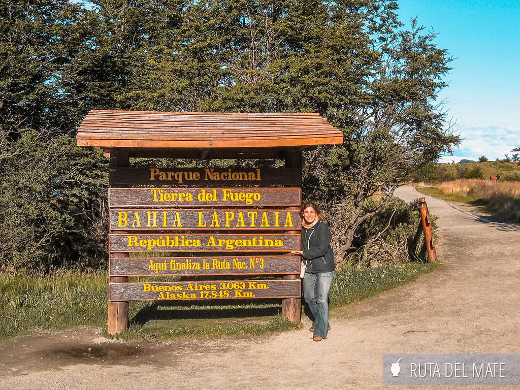 Cartel finalización Ruta Nacional 3 ARgentina