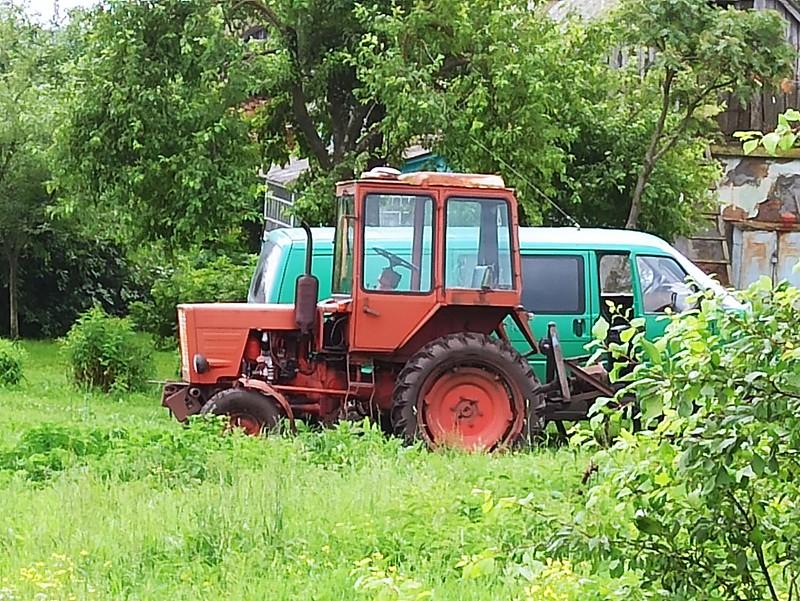 Трактор Николая Ерошкина