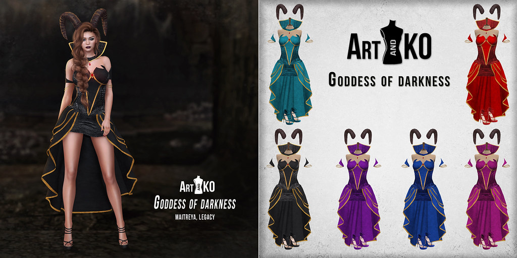 Art&Ko – Goddess of darkness – Hallow Manor