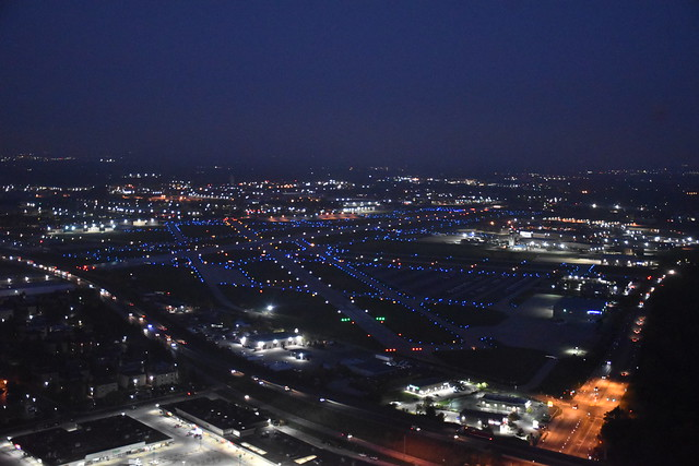 Chicago Executive Airport- Runway Lights- ON