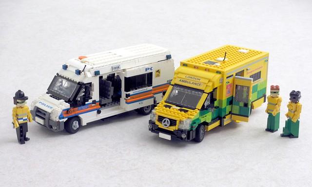 London emergency vehicles