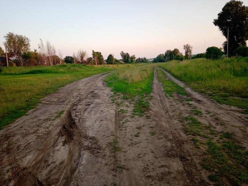 Дорога на деревню