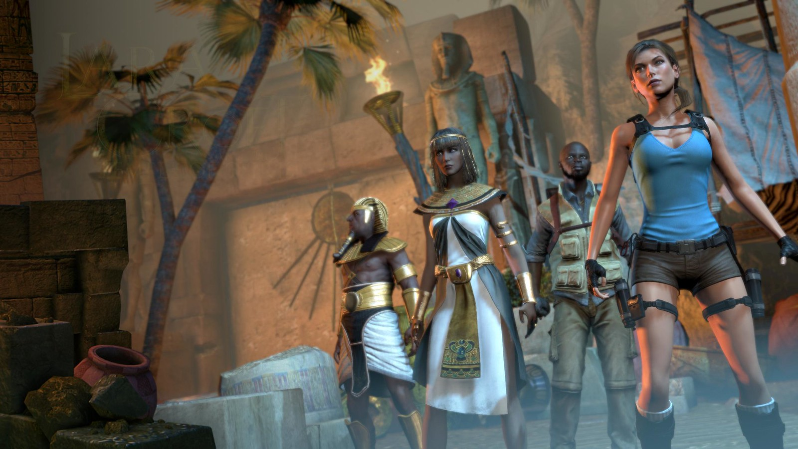 Fw: [心得]古墓奇兵:歐西里斯神殿---不如前作