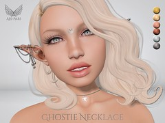 [Ari-Pari] Ghostie Necklace