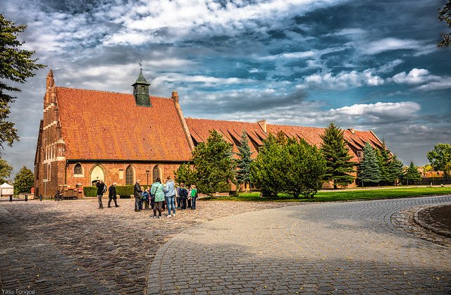Church of St. Larence on the grounds of the Malbork Castle, Malbork, Poland. 044-Edita