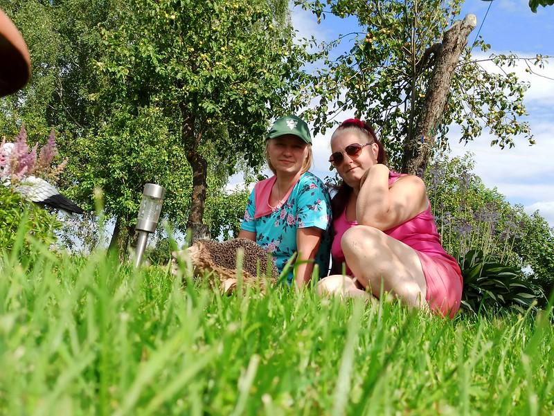 Копылова Маркина Надежда с сестрой Куровой Маркиной Еленой Николаевной