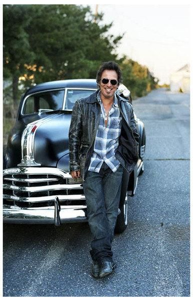 Bruce Springsteen y los coches