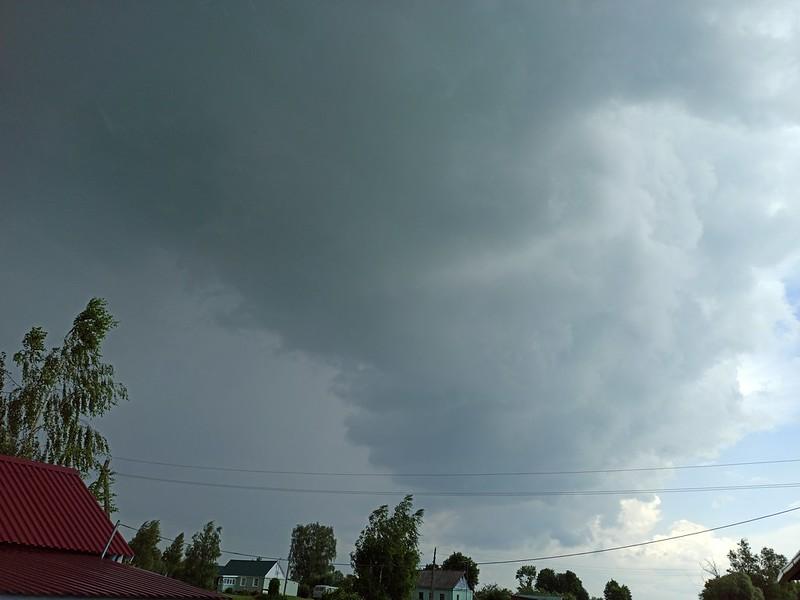 Облака перед дождём