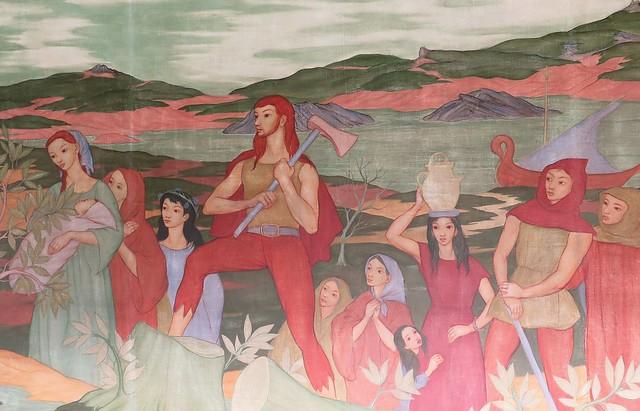Saint-Brieuc, fresques de la Maison Saint-Yves