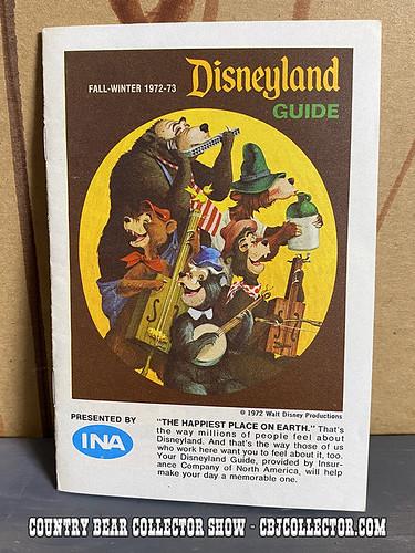 1972 INA Disneyland Guidebook - CBCS #275