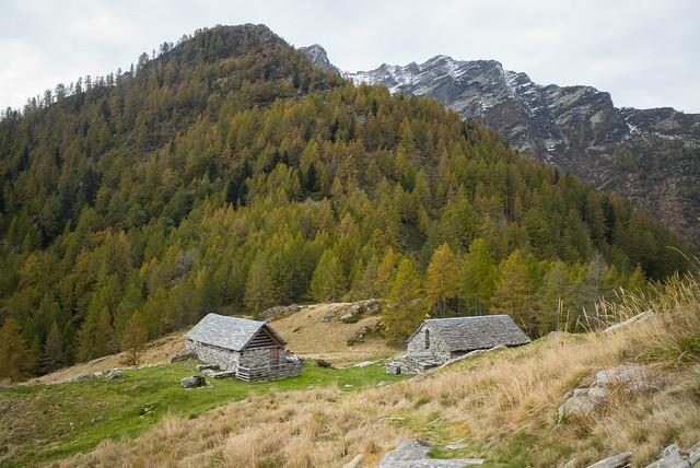 Alpe di Pii . Valle di Lodano (TI)