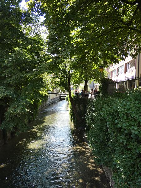rivière annecy