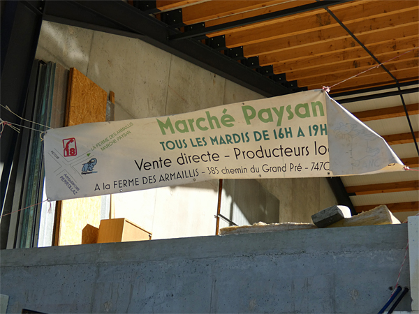 marché paysan sallanches