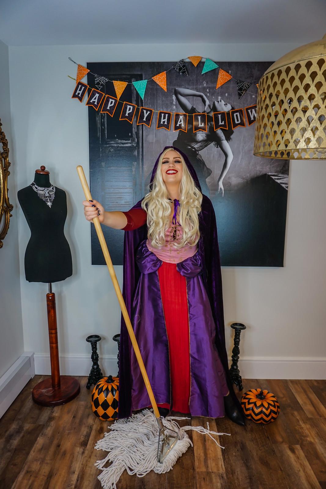 Hocus Pocus Halloween Costume | Sanderson Sisters Costumes | Sarah Sanderson | Sanderson Witches | Girl Group Halloween Costume | Halloween Costumes College | 2020 Halloween DIY