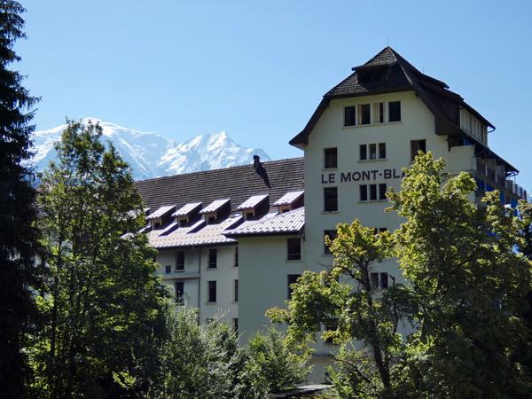 hôtel le mont blanc