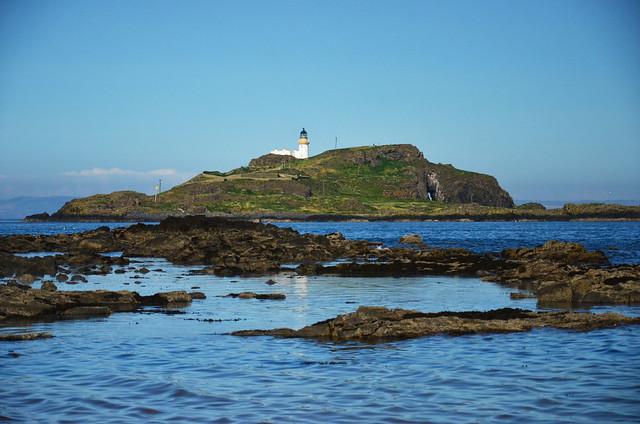 The island of Fidra, Firth of Forth, Scotland