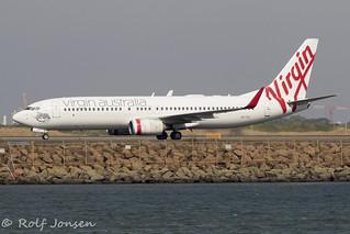VH-YIO Boeing 737-800 Virgin Australia Sydney Airport YSSY 04.01-20