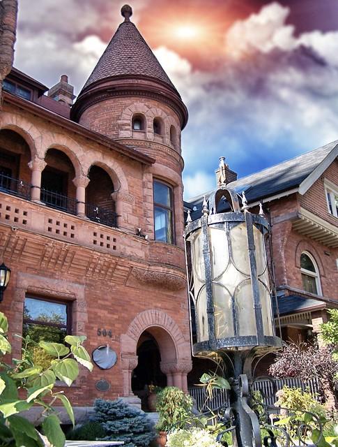 GOODERHAM HOUSE  ~ 504 JARVIS ST ~ Toronto Ontario - Canada  ~ Historical Mansion