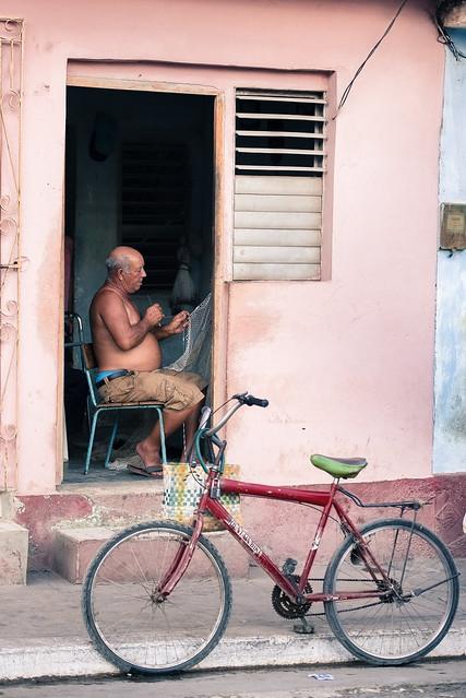 Cuba - Marin pêcheur Cienfuegos