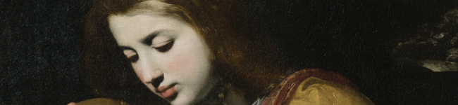 Magdalena a los pies de Cristo, Caldara