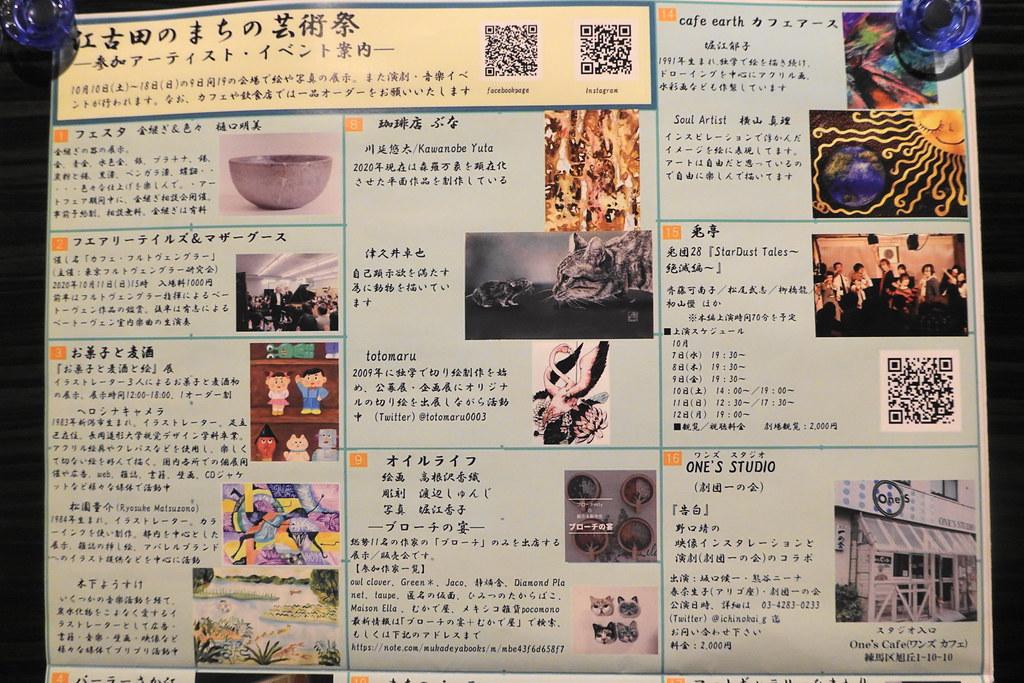 江古田のまちの芸術祭(江古田)