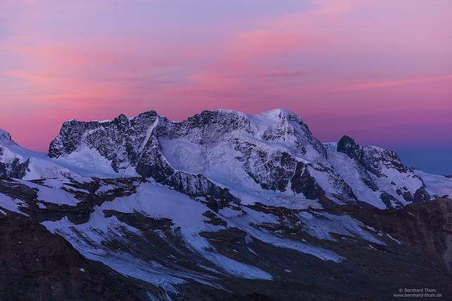 Dawn at Breithorn