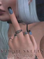 SC Kawaii Skulls Applier