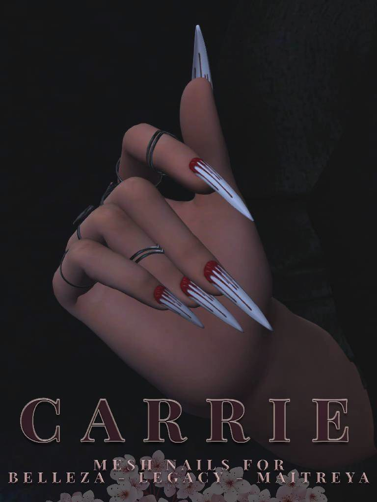 SC Carrie Mesh Nails