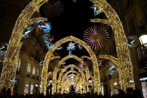 Alumbrado de Navidad de la Calle Larios