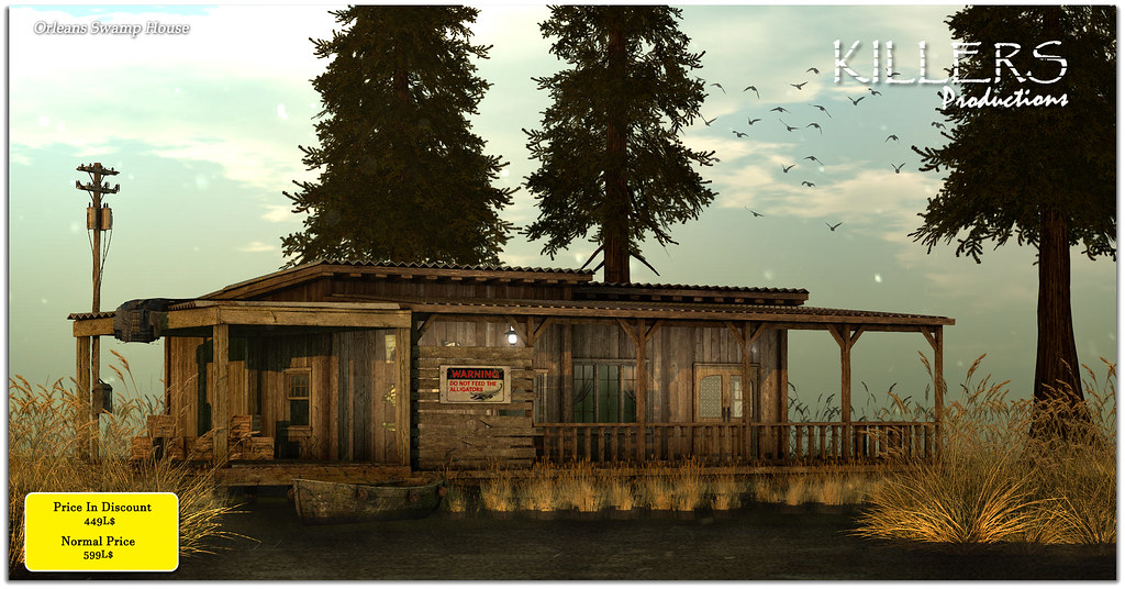 """""""Killer's"""" Orleans Swamp House On Discount @ Access Starts from 12th October"""