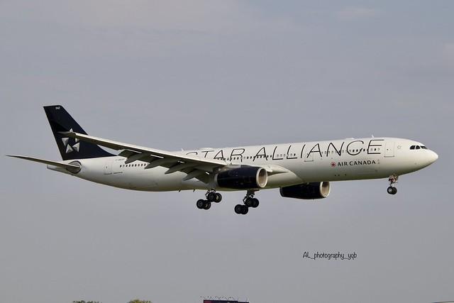 Air Canada Airbus 330-300 C-GEGP YUL Airport