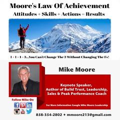 Mike Moore Leadership & Peak Performance Coach
