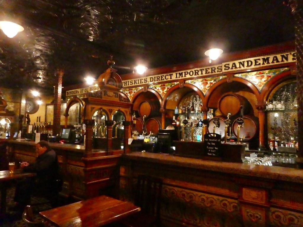 Interior of the Crown Liquor Saloon, Belfast